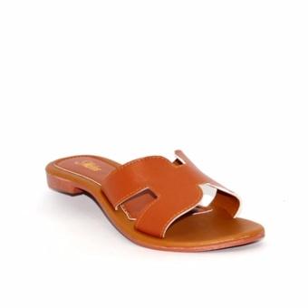 Marlee DN-18 Sandal Santai Wanita - Coklat - 2