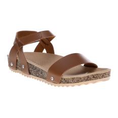 Marlee Flatbed Sandal Wanita IB-10 Tan