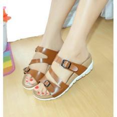Marlee IB-22 Platform Sandal Wanita - Tan