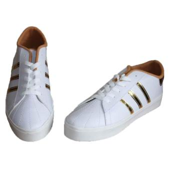 Marlee LU-05 Sneaker Shoes 3 Strap - Gold - 3