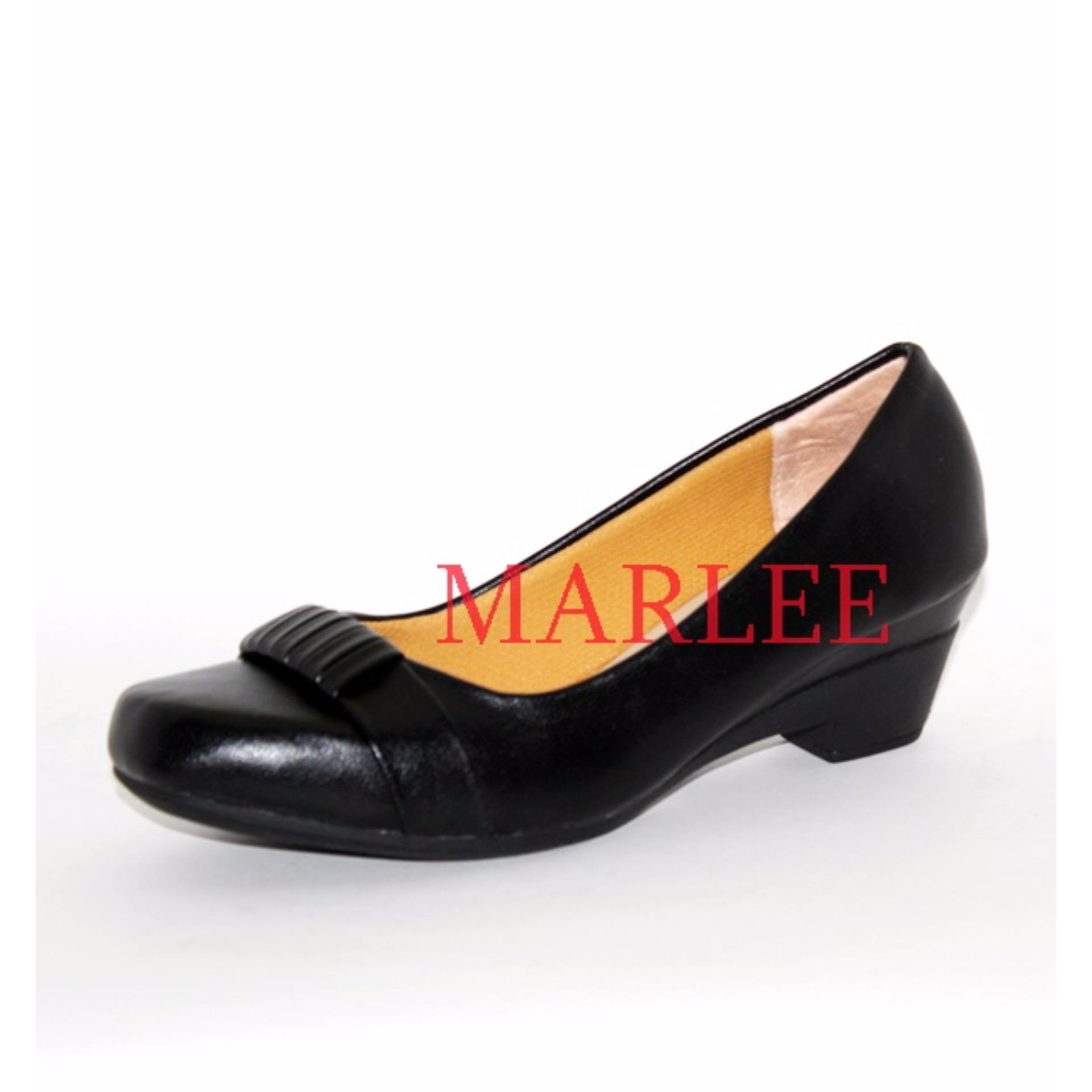 ... Marlee OTW-06 Sepatu Kerja Wanita - Hitam ...