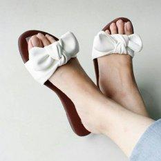 Marlee Sandal Teplek Wanita SS-04 Putih