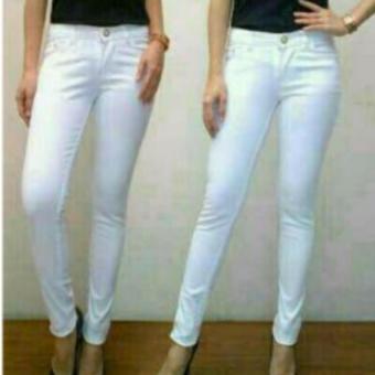 Master Jeans Celana wanita softjeans size 27-34 Putih - 3 .