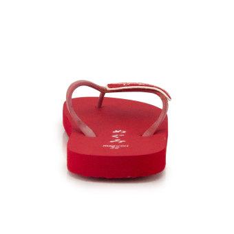 ... Megumi Ivy - Sandal Jepit - Merah - 3 ...