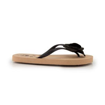 Detail Gambar Produk Megumi Periwinkle - Sandal Jepit - Hitam Terbaru