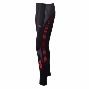 Men Pants Running Gym Fitness Sports Running Leggings TightsQuick-drying Fit Training Jogging Pants - intl