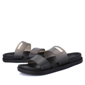 mens leather sandals shoes fashion casual shoes
