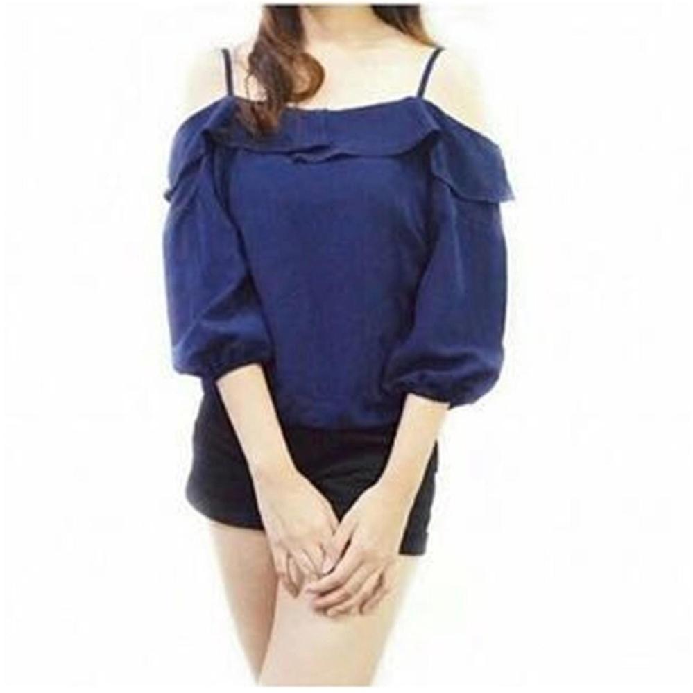 ... sabrina. Source · Flash Sale Mergita Top - Navy / atasan wanita / pakaian wanita / baju wanita /