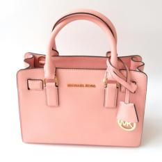 Michael Kors Dillon Small Saffiano Leather Satchel (Pale Pink)