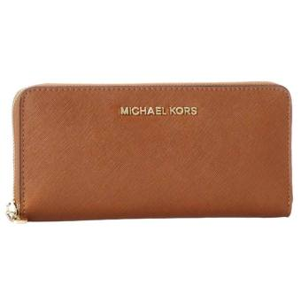 Michael Kors - Jet Set ZA Wallet Brown