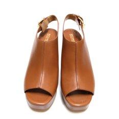 Michael Kors Piper Platform Sandal (Luggage)