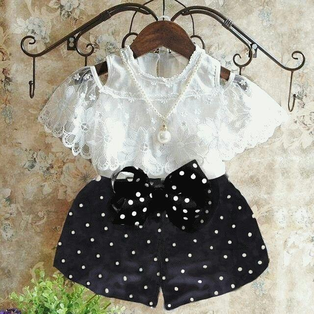 Mj dress Anak Echa Polka Kids - Polka
