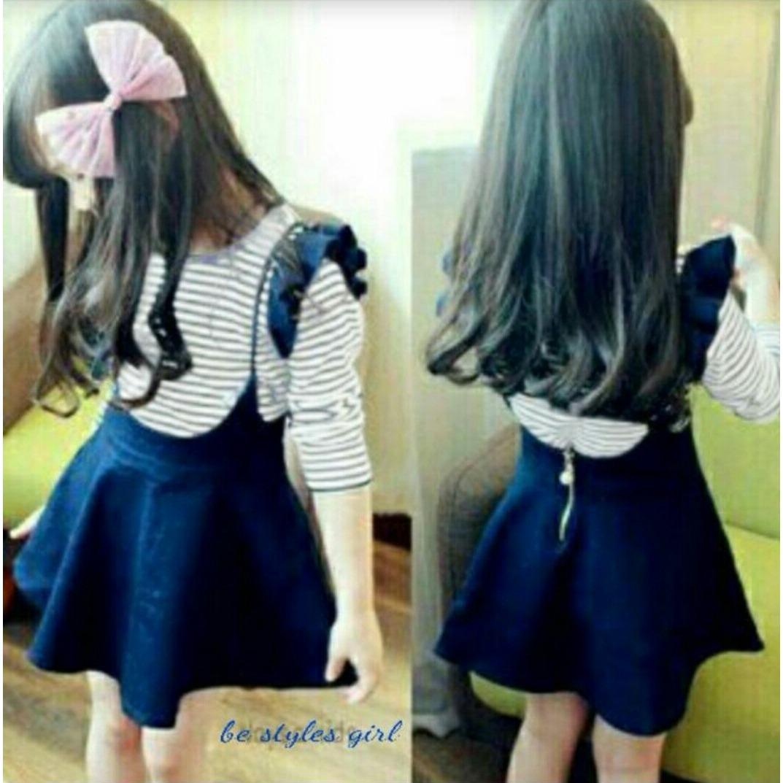 MJ Set Dress Chibi Kids - Square