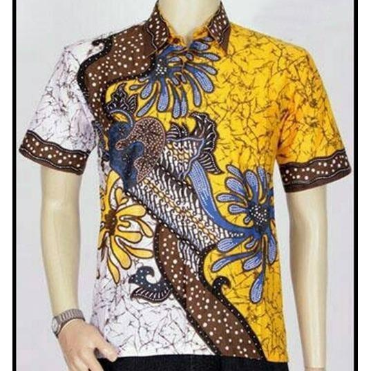 Murah Model Kemeja Batik Pekalongan Batik Pria Baju Batik Kantor