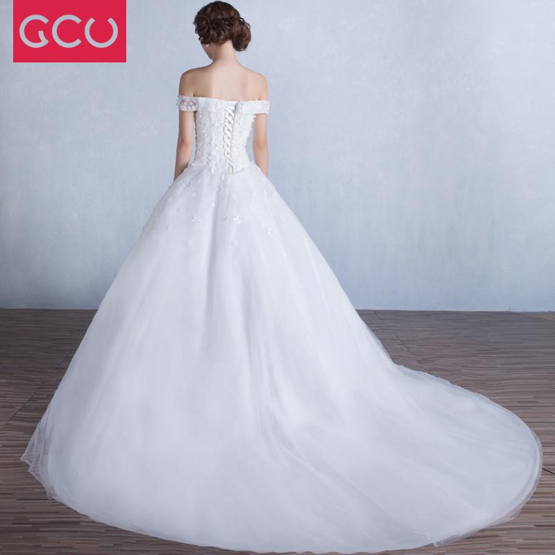 Model Korea Musim Semi Baru Mempelai Wanita Gaun Pengantin Gaun (Putih Berekor  Panjang) 531a074428