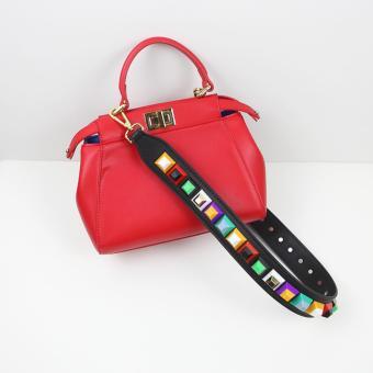 More584 Strap You Candy Stud Black - Strap Bag - Tali Tas Lebar Hitam - 3