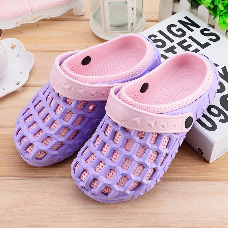 Flash Sale Musim panas anak laki-laki dan perempuan sepatu lubang sandal  dan sandal sepatu a046b45760