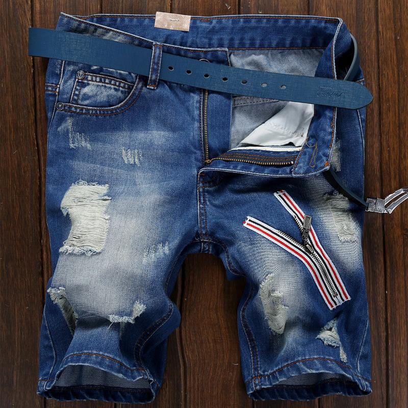 Flash Sale Musim panas pria Celana Pendek Denim (686 celana pendek)