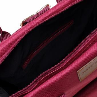 MYNT by Mayonette Tas Ransel Wanita Totes Shoulder Nello Backpack Canvas Maroon