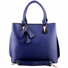 Nana Blanche Pretty Ribbon Tas Kerja Premium / Tas Selempang dan Tas Tangan Wanita - 1507 Biru