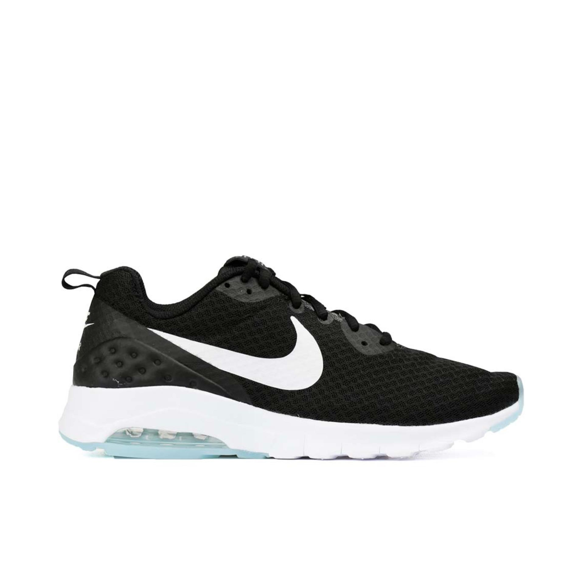sports shoes 252fb f0856 Nike Air Max Motion Lw-Black White . ...