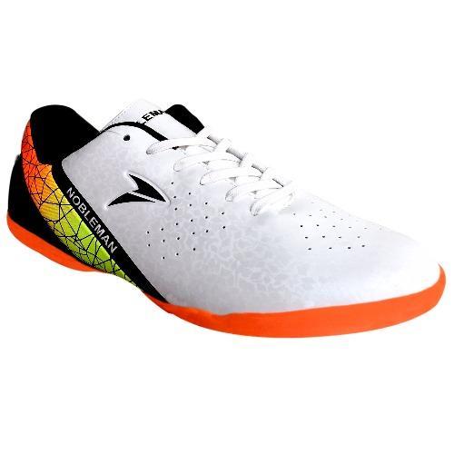 Hot Deals Nobleman Sepatu Futsal Fury - White Harga Saya a47737f056