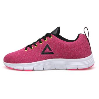 Olimpiade musim gugur dan musim dingin mahasiswa resmi kebugaran sepatu sepatu wanita sepatu lari (Rose/hitam)
