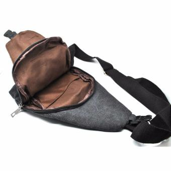 ... Ormano Bodypack Bag Tas Selempang Pria Men Sling Bags Tas Bahu Slempang Jeans Canvas Bahan Kanvas