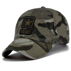Ormano Topi Fashion Snapback Star US Army - Hijau loreng
