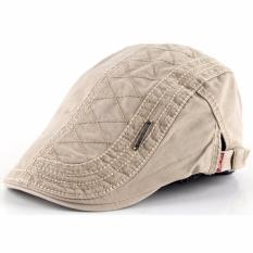 Ormano Topi Golf Summer Duckbill Pet Outdoor Fashion Jahit Beret Retro K042  - Cream 0e3f322d02