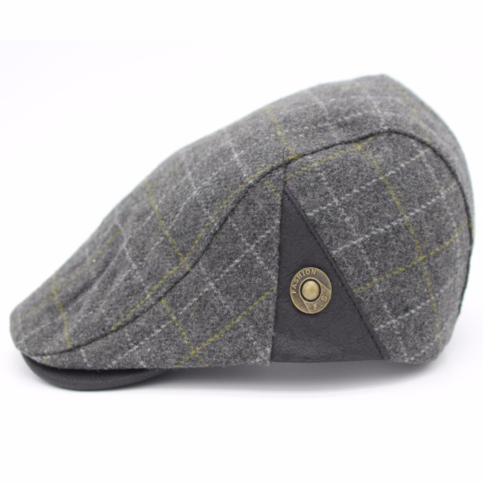 Ormano Topi Golf Summer Duckbill Pet Outdoor Fashion Kotak K042 - Hitam  Hijau . dc729ba749