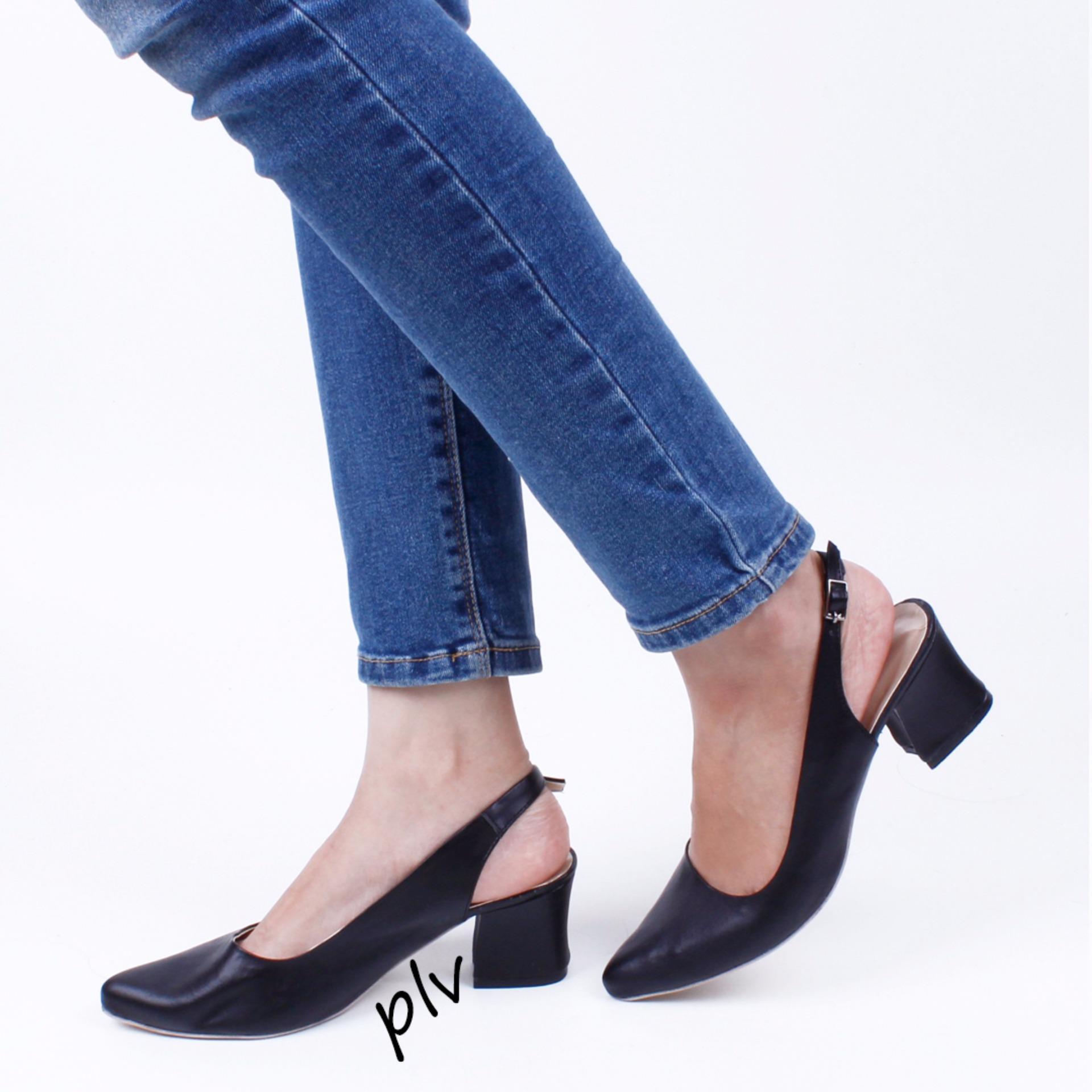 Open Toe T Strap Block Mid Heel Sandals Kn01. Source. Source .