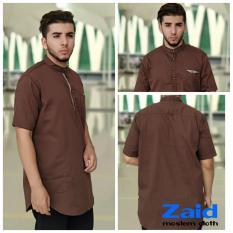 Pakaian Muslim Pria  - Baju Gamis Pria - Kurta Pakistan Zaid 126