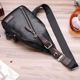 ... Paket rekreasi Crossbody Bag laki-laki cenderung satu paket tasransel bahu bag dada pinggang ...