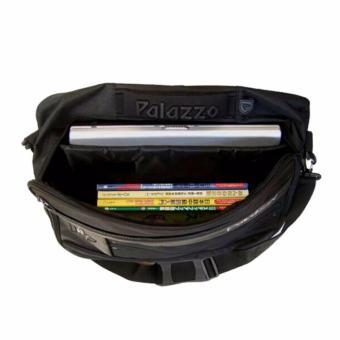 Palazzo Tas Ransel Punggung Laptop 3IN1 Trendy Multi Fungsi 34685 17 - Black Original - 3