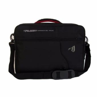 Palazzo Tas Ransel Punggung Laptop 3IN1 Trendy Multi Fungsi 34685 17 - Black Original - 2