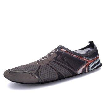 Panas Dijual laki-laki cepat kering bertelanjang kaki air mengambang Sepatu Aqua kaus kaki - intl - 2