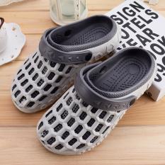 Pantai Anak kecil jelly sepatu lubang bayi sandal dan sandal (Semua abu-abu)