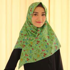 Black New Source parisku pashmina instant katun premium amira blue new Jual Hijab .