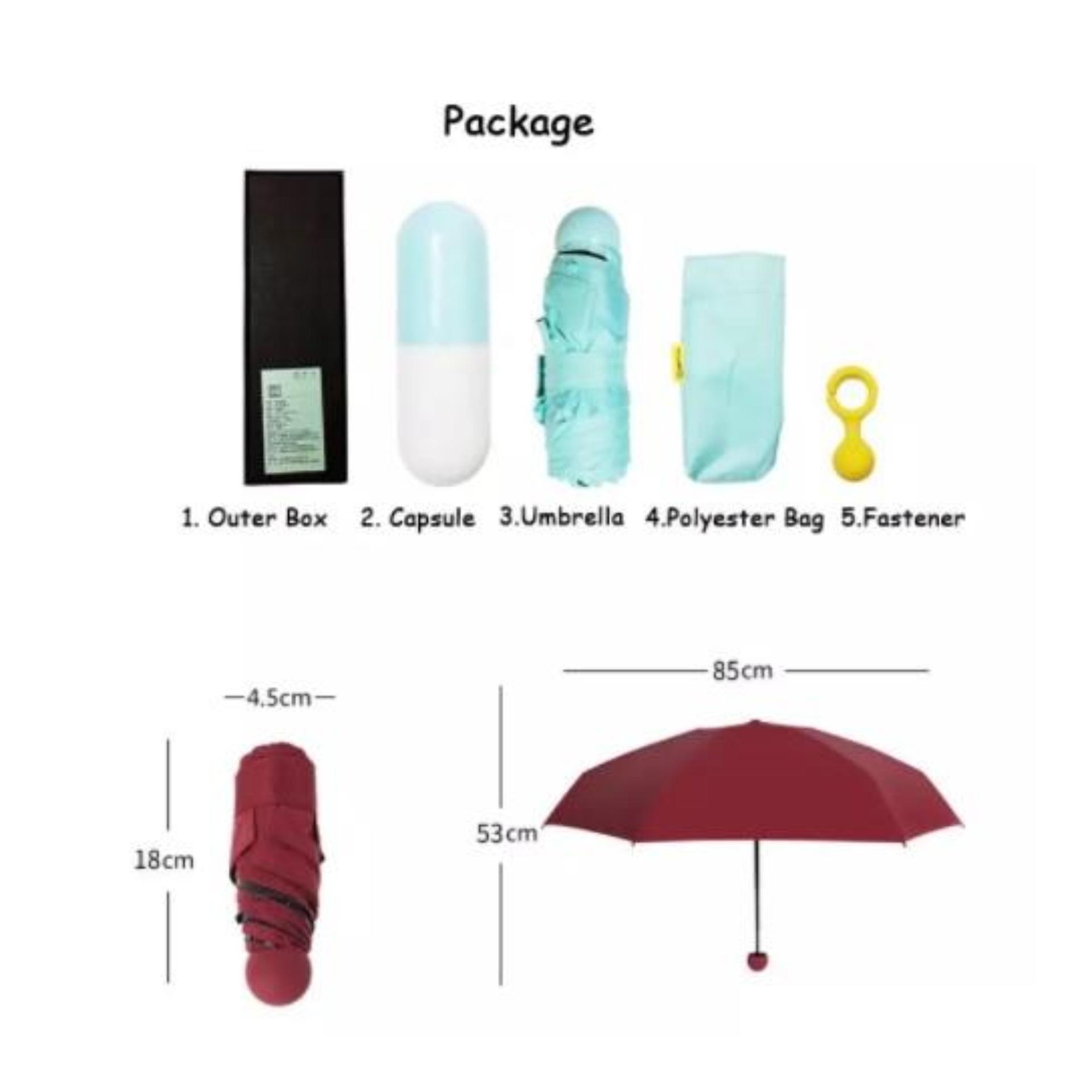 Perbandingan Harga Payung Kapsul Mini Lipat 3 Micro Capsule Terbalik Gagang C Reverse Umbrella Kazbrella Sj0015 Anti Uvbentuk Kecil Iphone Tas