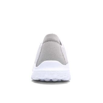 PINSV Jala Bernapas Fashion Wanita Sepatu Kets (Abu-Abu) - 4