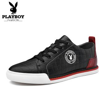 PLAYBOY baru pria kasual sepatu pria sepatu sepatu (Hitam)