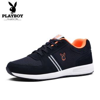 Beli PLAYBOY Hitam Musim Gugur Baru Pria Berjalan Sepatu Sepatu Pria (Biru  Tua) Murah. Daftar Harga ... 51f0a04e4b