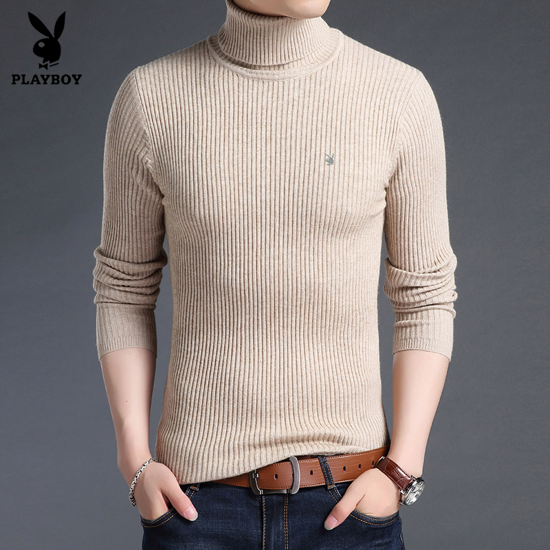 Sweater Wol abu Abu Source · Flash Sale PLAYBOY Kasual Pria Musim Gugur .
