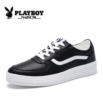 Update Harga PLAYBOY Korea Fashion Style pria sepatu sepatu sepatu pria (Hitam) IDR756,900.00  di Lazada ID
