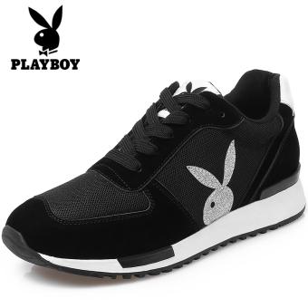 PLAYBOY mahasiswa kasual sepatu sepatu olahraga sepatu (Hitam)