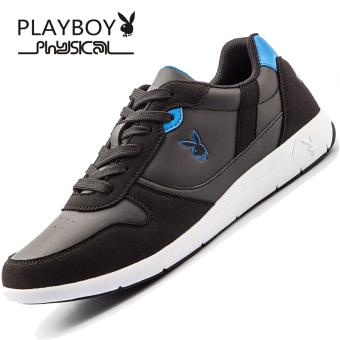 Beli PLAYBOY Musim Dingin Baru Kasual Sepatu Sepatu Pria (Hitam) Baru