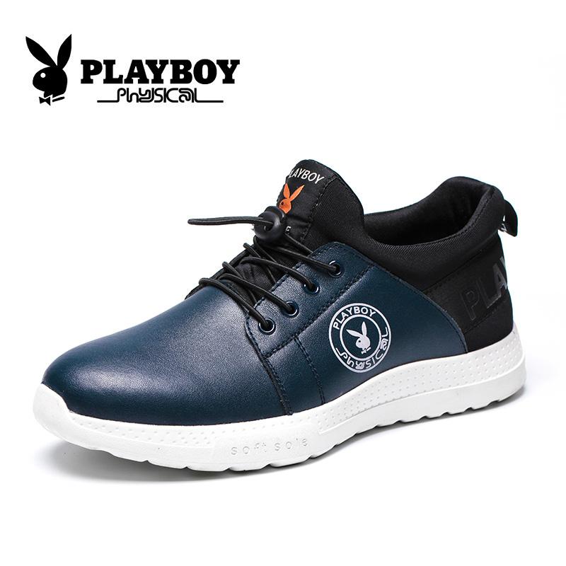 Flash Sale PLAYBOY musim gugur dan musim dingin baru untuk membantu sepatu  olahraga rendah 3c43a16761