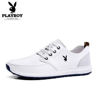 PLAYBOY pria sepatu sepatu musim panas sepatu BayMini (Putih)