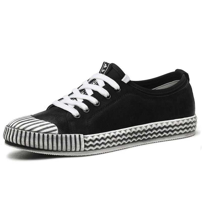 Lalang Fashion Pria Sepatu Kasual Kacang Polong Sepatu Loafers Source · Plover2017 trend kulit muda sepatu